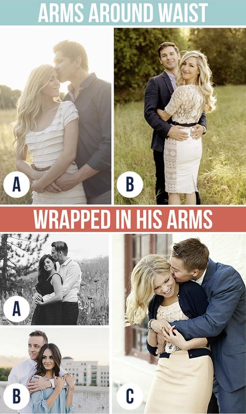 Những kiểu tạo dáng tình bể bình khi chụp ảnh cưới - 3