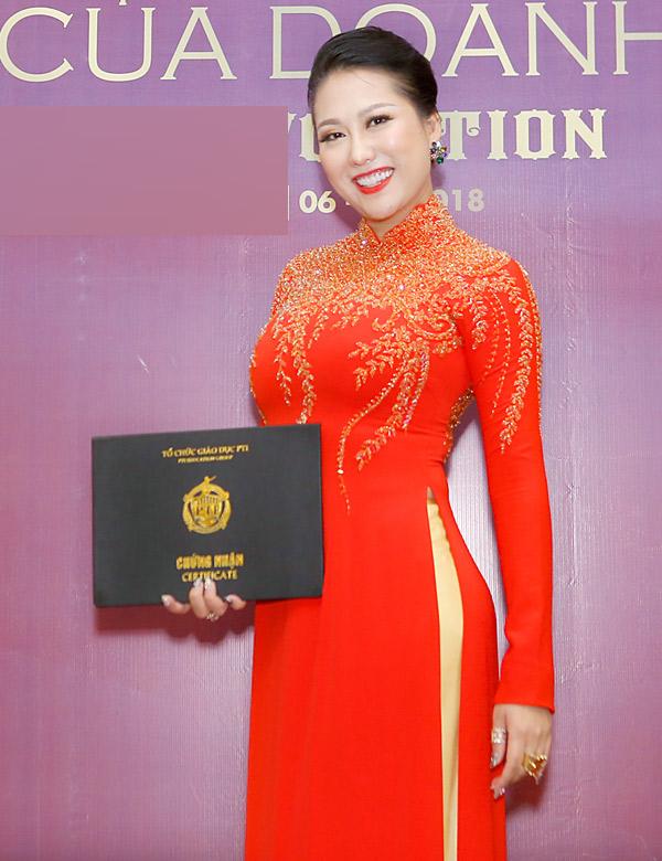 Vài năm nay Phi Thanh Vân ít hoạt động nghệ thuật vì bận tập trung kinh doanh.