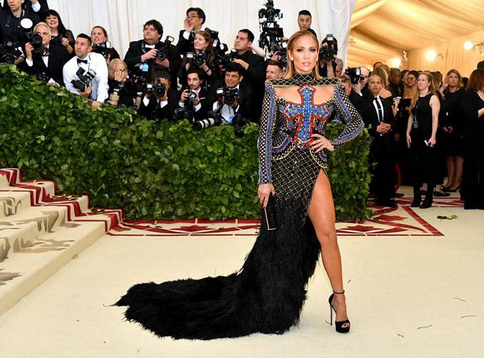 Ca sĩ Jennifer Lopez.