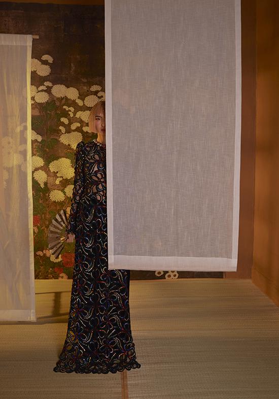 Nét tinh xảo trên áo dài Coco yêu dấu của Công Trí - 5