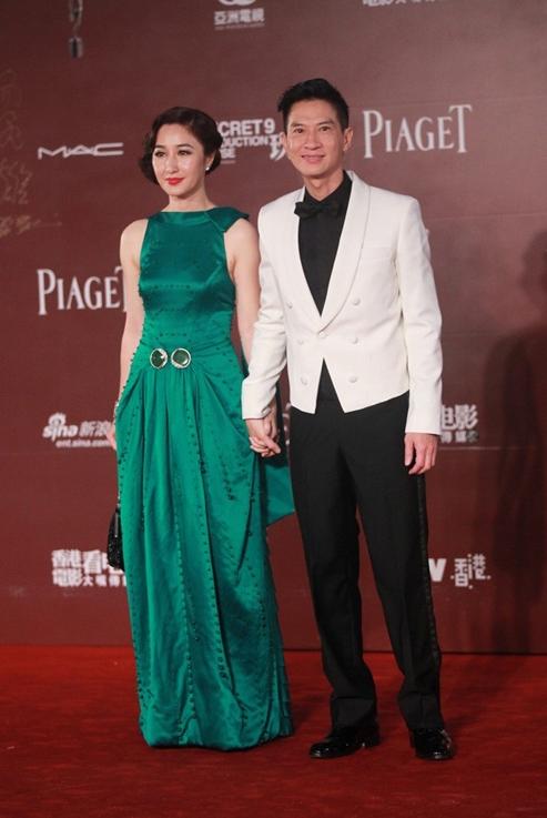 Trương Gia Huy và bà xã Quan Vịnh Hà.
