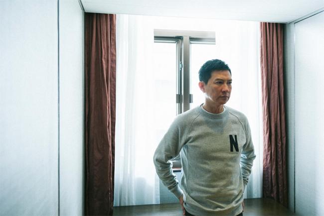 Tài tử Trương Gia Huy.