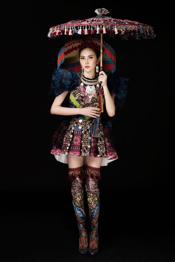 [CaptionPhoto : Rin Trần  Stylist : khun Chai  Makeup : Hoàng Trang Bùi