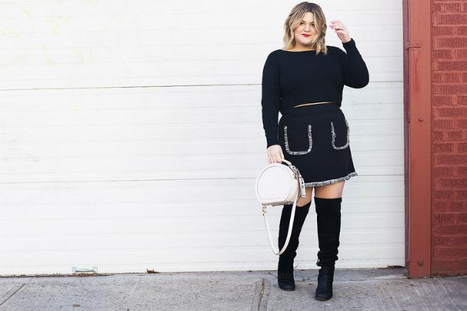 Nicolette Mason là chủ thương hiệu thời trang ngoại cỡ có phong cách nổi bật. Ảnh: Nicolette Mason