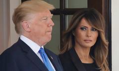 Ông Trump và vợ 'ngủ riêng, ít dành thời gian bên nhau'