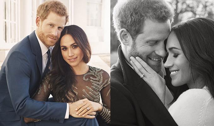 Ảnh đính hôn của đôi đình đám Anh quốc. Ảnh: India.com