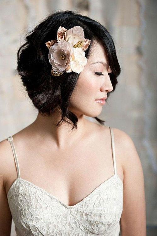 5 phụ kiện xinh lung linh cho nàng dâu tóc ngắn - 9