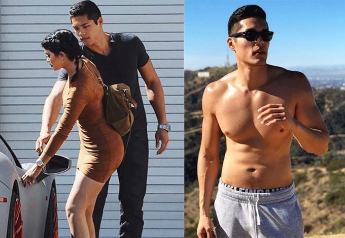 Vệ sĩ của Kylie có gương mặt điển trai, thân hình nóng bỏng.
