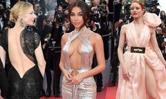 Dàn mỹ nhân hở bạo trên thảm đỏ khai mạc LHP Cannes 2018