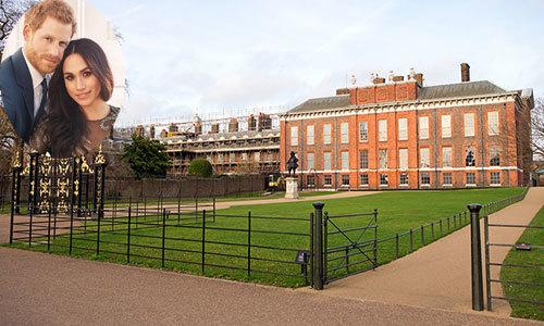 Hoàng tử Harry và hôn thê sắp trở thành hàng xóm của nhà Kate