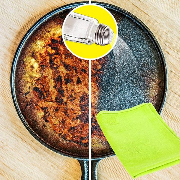 10 mẹo với muối giúp bạn làm việc nhà nhàn tênh