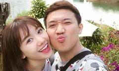 Trấn Thành 'dìm hàng' Hari Won trên Facebook