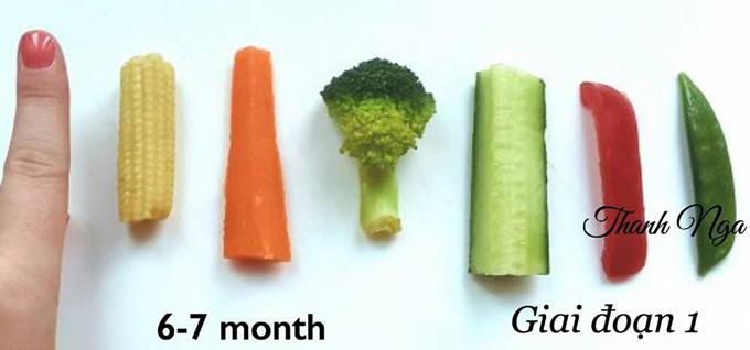 Mẹ 8X chia sẻ thực đơn ăn dặm BLW cho bé trong độ tuổi 6 đến 12 tháng tuổi