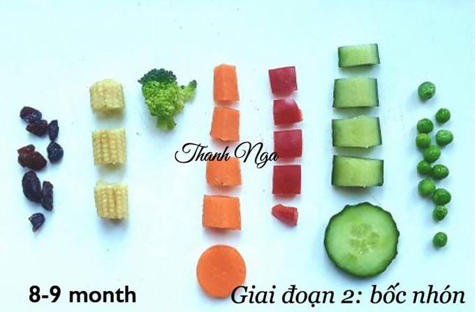 Mẹ 8X chia sẻ thực đơn ăn dặm BLW cho bé trong độ tuổi 6 đến 12 tháng tuổi - 1