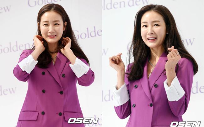 Nhan sắc tuổi ngoại tứ tuần của mỹ nhân Hàn.