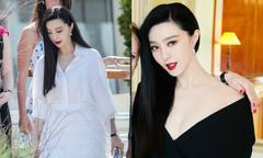 Phạm Băng Băng thay váy áo liên tục trong chuỗi ngày ở Cannes