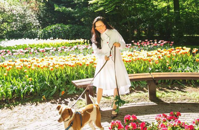 Sao Việt nô nức tới Hà Lan ngắm mùa hoa tulip đẹp nao lòng - 11