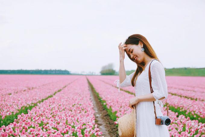 Sao Việt nô nức tới Hà Lan ngắm mùa hoa tulip đẹp nao lòng - 5