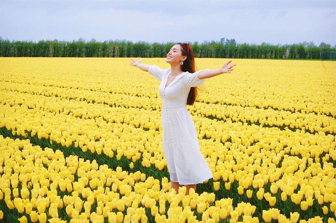 Sao Việt nô nức tới Hà Lan ngắm mùa hoa tulip đẹp nao lòng - 7