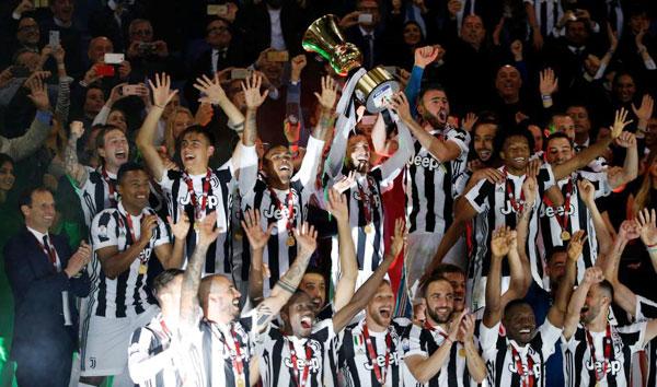 Đăng quang tại Coppa Italy, Bà đầm già đang hướng tới cú đúp danh hiệu quốc nội khi gần như chắc chắn vô địch Serie A.