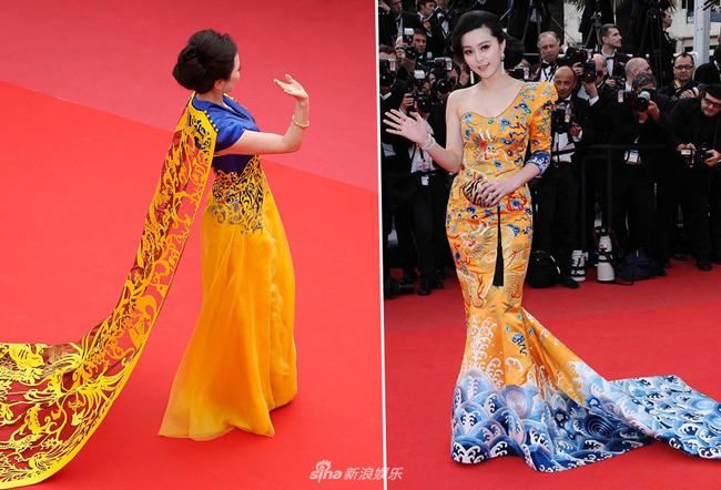 Dàn sao Hoa ngữ bị chỉ trích vì chơi trội trên thảm đỏ Cannes - 3