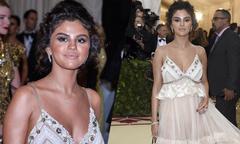 Selena Gomez phản hồi khi bị chê có làn da nhuộm 'thảm họa' ở Met Gala