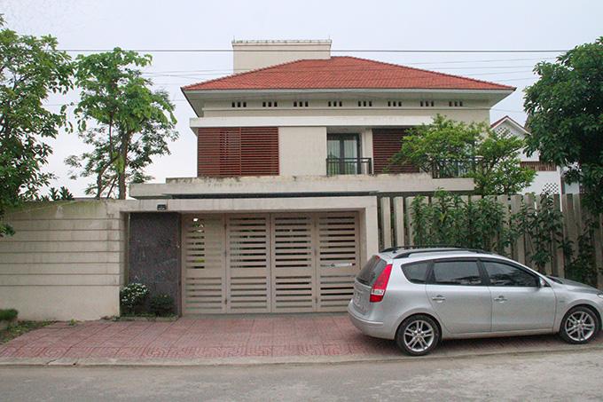 Ngôi nhà của con gái thiếu tướng Trần Công Trường. Ảnh: Hùng Lê