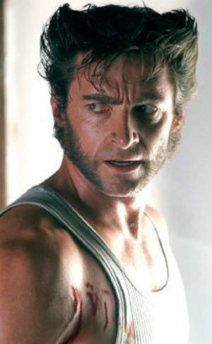 Mái tóc dựng làm nên thương hiệu Người Sói là ý tưởng của Feige và đem lại cái duyên với Marvel cho anh. Ảnh:Pinterest.