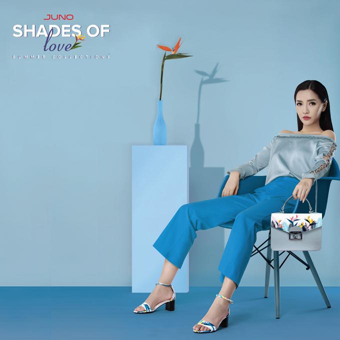 Bộ sưu tập mới của thương hiệu thời trang Việt lựa chọn Bích Phương làm người mẫu đại diện. Cuộc sánh đôi mới mẻ này của Juno được kỳ vọng sẽ đem đến làn gió thời trang mới. Rũ bỏ hình tượng bánh bèo trước đây, trong bộ ảnh Shades of love, Bích Phương hóa thành cô nàng hiện đại, cá tính, đầy kiêu kỳ.