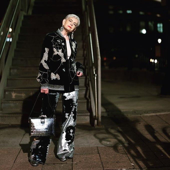 Gu thời trang của nữ giáo sư U70