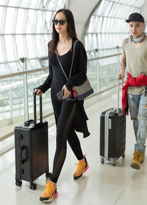 Vũ Ngọc Anh chia sẻ, cô sẽ ở Pháp khoảng một tuần để dự LHP Cannes và một số sự kiện khác, do nhãn hàng thời trang nước ngoài tổ chức.