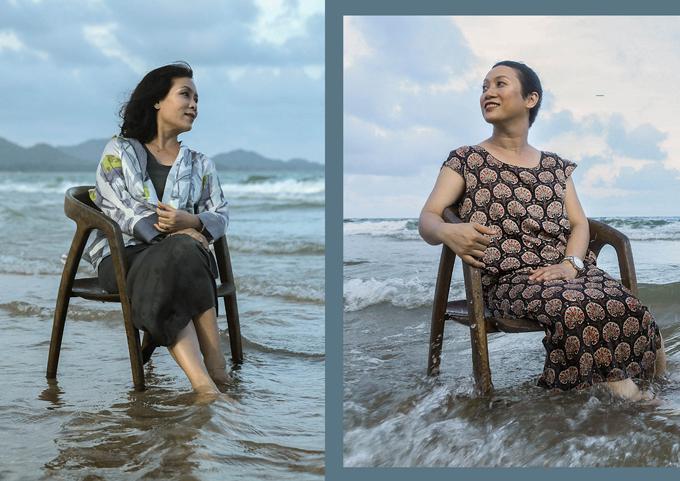 Li Lam cùng ê-kíp đã trực tiếp tư vấn phong cách ăn mặc cũng như trang điểm cho 10 phụ nữ ung thư vú, giúp họ có một kỷ niệm đẹp tại Hồ Tràm.
