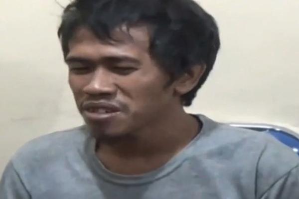HB hiện bị cảnh sát bắt giam và buộc tội giết người. Ảnh:AsiaWire/Liputan6 SCTV.