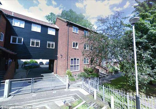 Khu nhà nơi Heather sống. Ảnh: Google Street View.