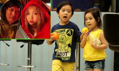 Hai con Lý Hải thử hóa thân nhân vật trong phim 'Lật mặt 3'