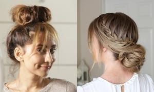 3 cách tạo kiểu tóc búi không cần dụng cụ giúp giải nhiệt ngày nóng