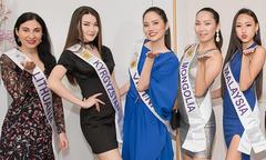 Diệu Linh nổi trội giữa dàn thí sinh Nữ hoàng Du lịch Quốc tế