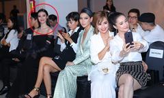 Nhã Phương không nhìn Khánh My khi chạm mặt ở show thời trang