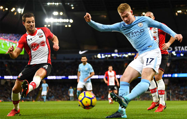 Man City đứng trước cơ hội phá nhiều kỷ lục ở trận đấu cuối. Ảnh: NN.