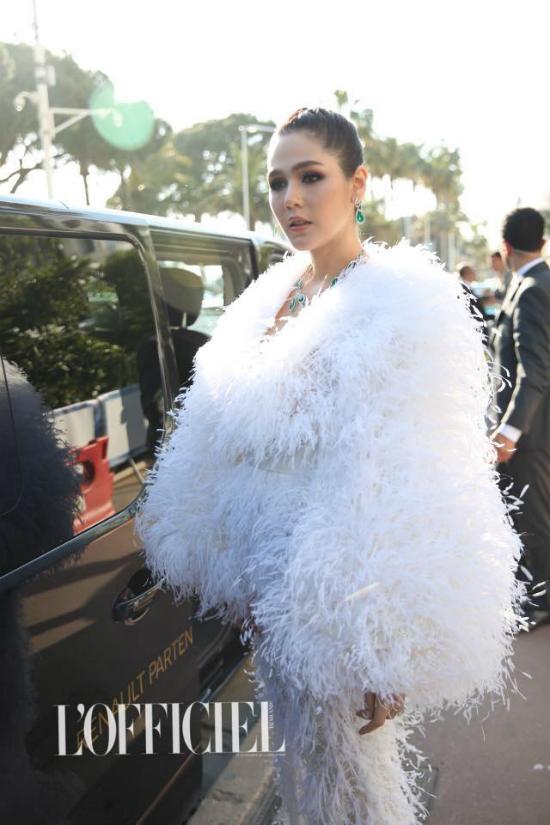 Phạm Băng Băng hóa đóa hồng nhung kiêu sa trong ngày thứ 4ở Cannes - 8