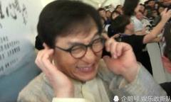 Thành Long bịt tai để né mọi câu hỏi về 'con rơi'