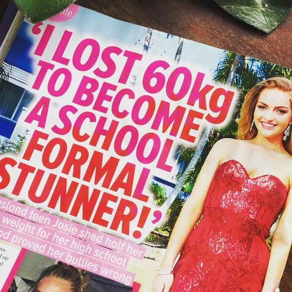 Cô còn xuất hiện trên tạp chí Womens Day để chia sẻ về