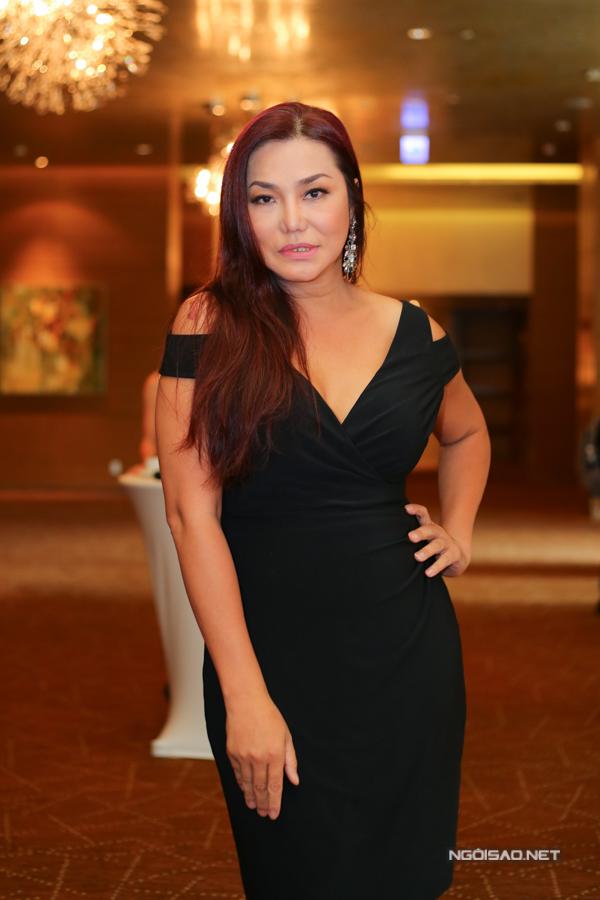 Cindy Thái Tài cũng là khách mời trong sự kiện vềthẩm mỹ tổ chứctại TP HCM.