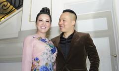 Hoa hậu Đinh Hiền Anh làm giám khảo cuộc thi áo dài tại Pháp