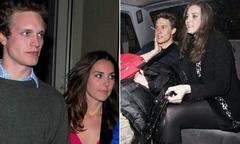 Hé lộ danh sách bạn trai cũ của Công nương Kate