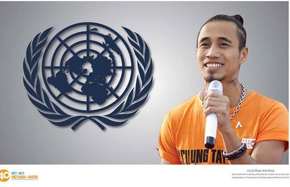 Quỹ Dân số Liên Hợp Quốc quyết định hủy vai trò Đại sứ của Phạm Anh Khoa sau scandal gạ gẫm tình dục.