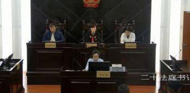 Phiên tòa xét xử vụ việc của cặp vợ chồng Trung Quốc. Ảnh: Sina.