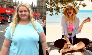Từng nặng 120 kg, cô gái giảm nửa trọng lượng chỉ nhờ thay đổi hai thói quen
