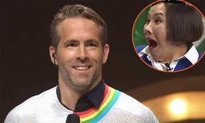 Ryan Reynolds gây sốc khi bí mật đi thi hát ở Hàn Quốc