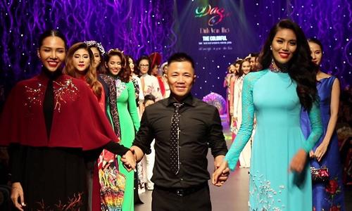 Hành trình 20 năm đồng hành cùng áo dài của nhà thiết kế Đinh Văn Thơ